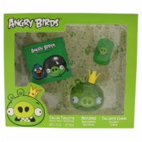 Angry Birds Angry Birds  King Pig 1.7oz EDT Spray, Notepad, Tag with Chain 3 Pc Gift Set - 3 Pc Gift Set