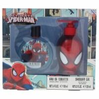Marvel Ultimate Spider Man 3.4oz EDT Spray, 8.5oz Shower Gel 2 Pc Gift Set