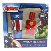 Marvel Avengers 1.01oz EDT Spray, 2.03oz Shower Gel 2 Pc Gift Set