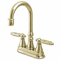 Kingston Brass KS2492GL Bar Faucet, Polished Brass - 1