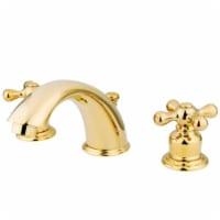 Kingston Brass GKB972X Widespread Bathroom Faucet, Polished Brass - 1