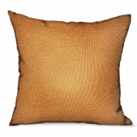 """Plutus Burnt Sienna Brown Solid Luxury Outdoor/Indoor Throw Pillow Double sided  12"""" x 20"""