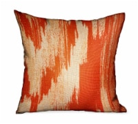 "Tangelo Avalanche Orange Ikat Luxury Outdoor/Indoor Throw Pillow Double sided  22"" x 22 - 1"