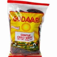 Godavari Guntur Chilli Whole - 200 Gm - 1 unit