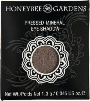 Honeybee Gardens  Pressed Mineral Eye Shadow Tippy Taupe