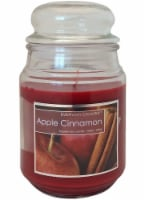 Everyday Escapes Cinnamon Apples Jar Candle - Dark Red