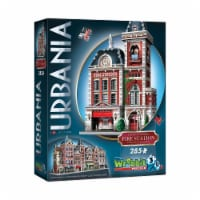 Wrebbit Urbania Collection Fire Station 3D Puzzle