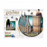 Wrebbit Harry Potter Collection Hogwarts Great Hall 3D Puzzle
