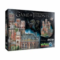 Wrebbit Game of Thrones The Red Keep 3D Puzzle