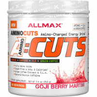 ALLMAX Nutrition  A-Cuts™ Amino-Charged Energy Drink   Goji Berry Martini