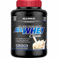 ALLMAX Nutrition  ALLWHEY® CLASSIC Pure Whey Protein Blend   French Vanilla