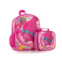 Trolls Deluxe Backpack and Lunch Bag Set - No