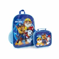 Paw Patrol Deluxe Backpack School Bag with Lunch Bag - No