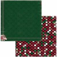 """Joyful Christmas Double-Sided Cardstock 12""""X12""""-Cheer - 1"""