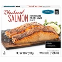 C.Wirthy & Co. Blackened Atlantic Salmon Fillets - 10 oz