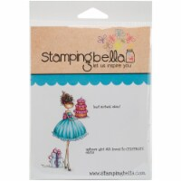Stamping Bella Cling Stamps-Ava Loves To Celebrate - 1