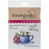 Stamping Bella Cling Stamps-Maisy & Madeline Have Some Tea - 1
