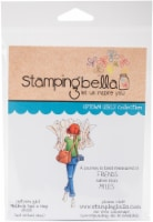 Stamping Bella Cling Stamps-Melinda Has A Map - 1
