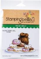 Stamping Bella Cling Stamps-Mochi Donut Girl - 1