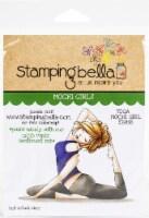 Stamping Bella Cling Stamps-Yoga Mochi Girl - 1