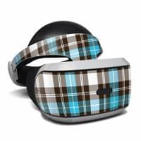 DecalGirl PSVR-PLAID-TUR Sony Playstation VR Skin - Turquoise Plaid - 1