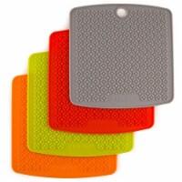 Nu Steel TG-TRI-1 Silicone Pot Holder Trivet Mat Hot Pad