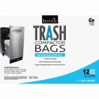 BestAir 1.4 Cu. Ft. White Compactor Trash Bag (12-Count) WMCK1335012-2