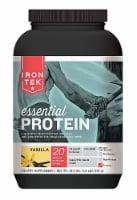 Iron-Tek  Essential Natural Protein   Vanilla