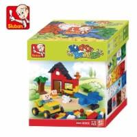 Sluban Kiddy Bricks Classic Building Brick Set - 415 Piece