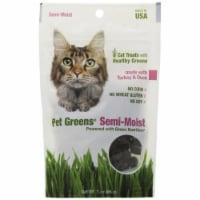 Pet Greens 12004 3 oz. Semi Moist Cat Treat - Turkey and Duck