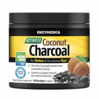 Enzymedica Activated Coconut Charcoal Powder, 75 Grams (150 Servings) - 75
