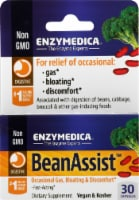 Enzymedica BeanAssist Gas Bloating & Discomfort Dietary Supplement
