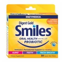 Enzymedica Digest Gold Smiles Probiotic Mints, 30 Quick Melt Mints - 30