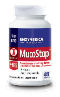 Enzymedica Mucostop Dietary Supplement Capsules