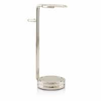 The Art Of Shaving Compact Shaving Stand  Nickel (For Brush & Razor) 1pc