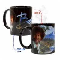 Bob Ross Exclusive Color Change Ceramic Coffee Mug 12 ounces