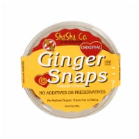 Shasha Bread Original Ginger Snap Cookies - Case of 16 - 12 oz - Case of 16 - 12 OZ each