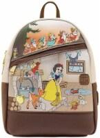 Snow White And The Seven Dwarfs Multi Scene Mini Backpack - 1
