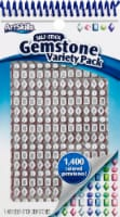 Art Skills Self-Stick Gemstone Variety Pack - 1400 Piece - Multi-Color