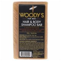 Hair and Body Shampoo Bar by Woodys for Unisex - 8 oz Shampoo - 8 oz