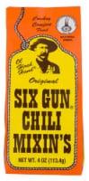 Six Gun Gluten Free Original Chili Mixin's Chili Mix - 4 oz