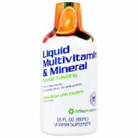 1st Step for Energy Liquid Multi-Vitamin & Mineral Citrus Burst, 16 Fl Oz - 1 Unit