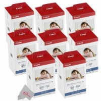 8x Canon Kp-108in Selphy Color Ink 4x6 Paper Set 3115b001 For Selphy Cp910 Cp900 - 1