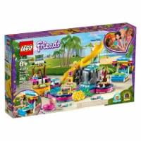 LEGO® 41378 Friends Andrea's Pool Party V39 Building Toy - 468 pcs