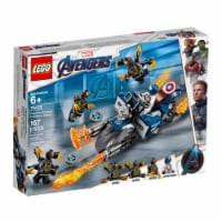 76123 LEGO® Marvel Avengers Captain America: Outriders Attack - 167 pc