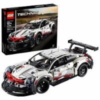 LEGO Technic 1580 Piece Collectible Car Porsche 911 RSR Advanced Building Kit - 1 Unit