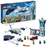 LEGO 60210 City 529 Piece Sky Police Air Base Building Kit for Kids Age 6 and Up - 1 Unit