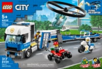 LEGO® City Police Helicopter Transport Building Set - 317 pc