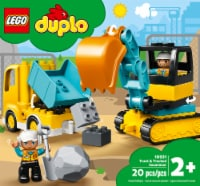 LEGO® Duplo Truck and Tracked Excavator Building Set