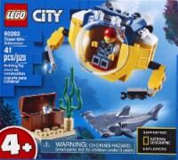LEGO® City Ocean Mini-Submarine Building Toy